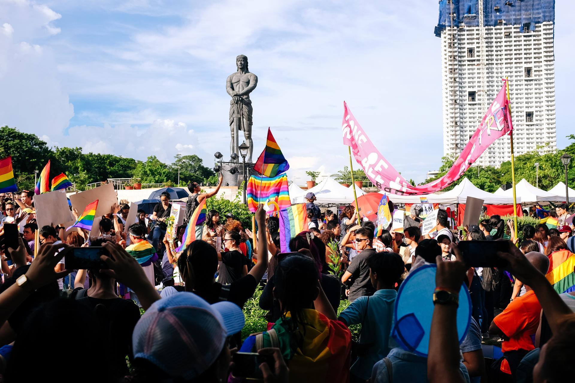 Metro Manila Pride March 2016, Philippines (2016)