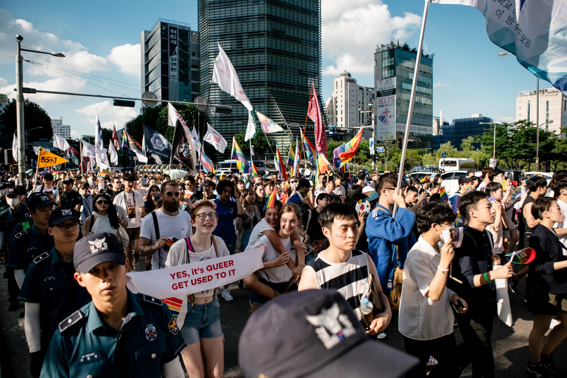 Seoul Queer Pride 2018, South Korea (2018)